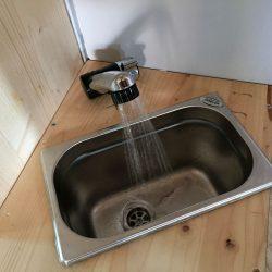 Wasseranlage- Campingküche