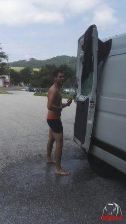 MAYA Outdoor Campingdusche